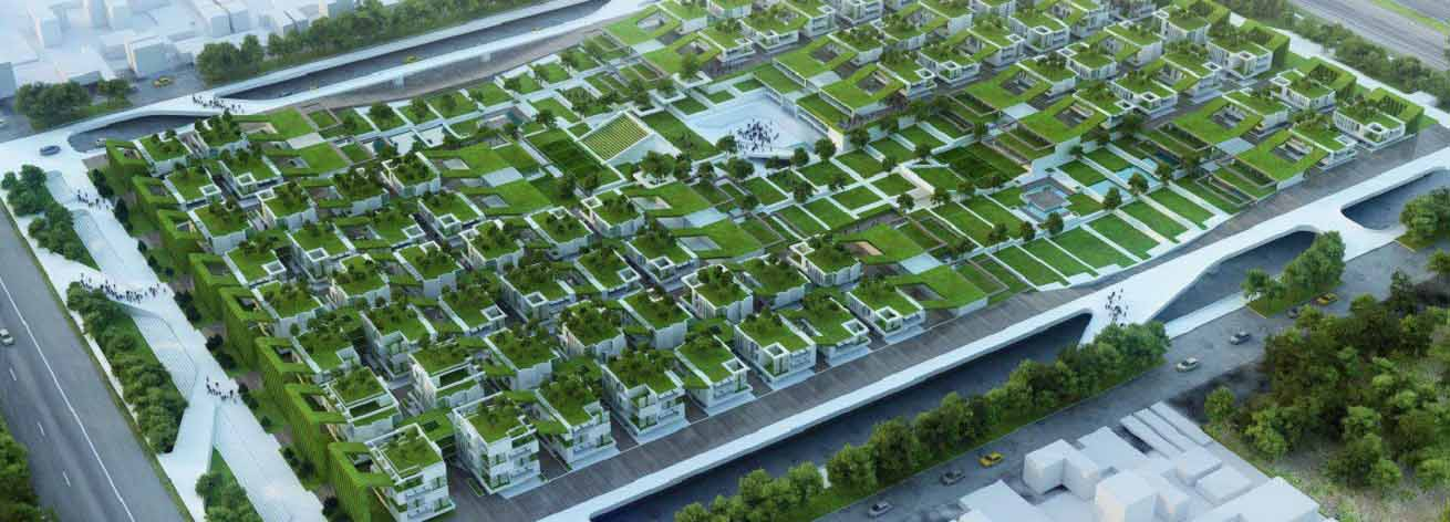 طراحی مجتمع مسکونی با رویکرد معماری سبز